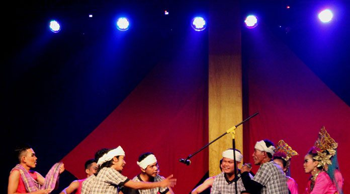 Pagelaran seni asal Bangka Belitung