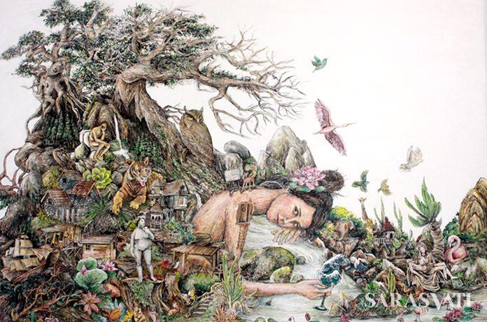 seni lukis, karya lukis, karya lukisan, karya Galih Reza Suseno
