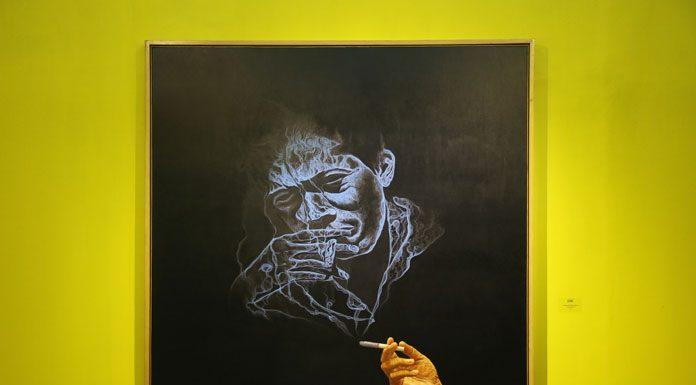 Aku Ingin Hidup 1000 Tahun Lagi 200x200 cm, oil on canvas, 2016