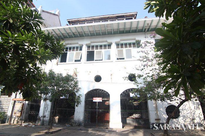 Gedung Kerta Niaga di Kawasan Kota Tua Jakarta (Dok. Reza Praditiya)