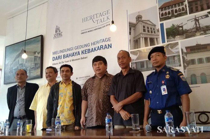 Heritage Talk Melindungi Gedung Heritage dari Bahaya Kebakaran