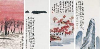 Qi Baishi, Twelve Landscapes