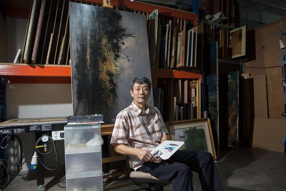 konservator, Zhang Dinkonservator, Zhang Din