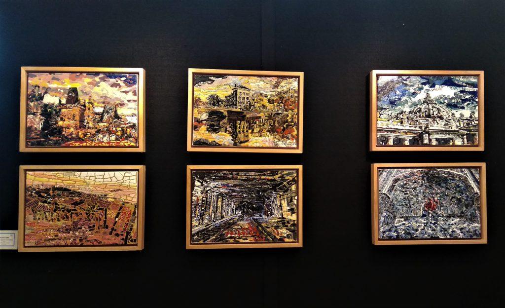 Seri karya Refleksi dari Edo Pilliang (Dok. Dhamarista Intan)