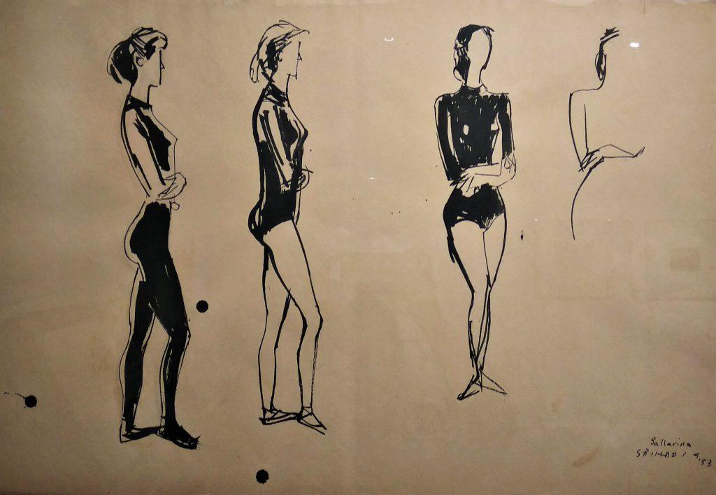 Srihadi Soedarsono, Ballerina (1953) (doc. Dhamarista Intan)