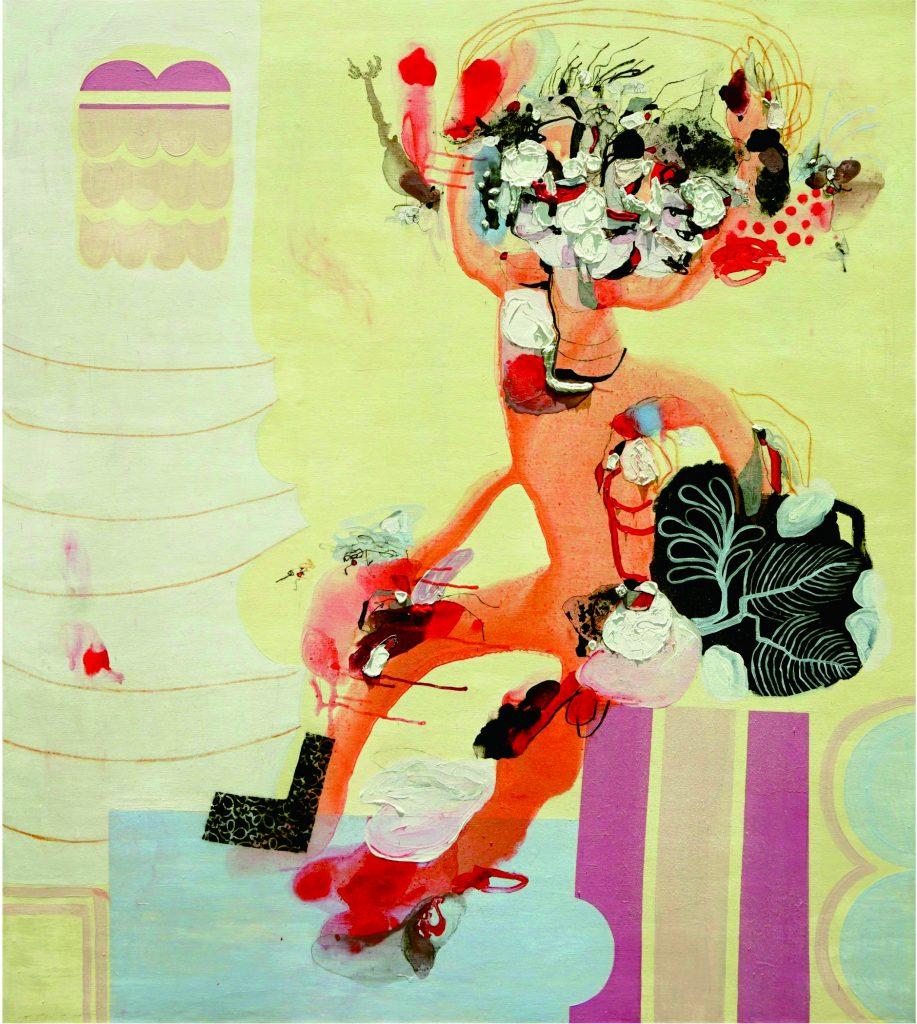 Karya Ayu Arista Murti, Unity. 01, 190 cm x 170 cm, 2018. (Doc. Ayu Arista Murti)