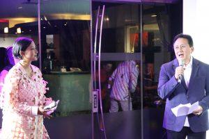 Kepala Bekraf Triawan Munaf membuka Opening Night ICAD 2019 dengan pantun