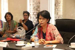 Dosen IKJ Citra Smara Dewi (doc:Denis)